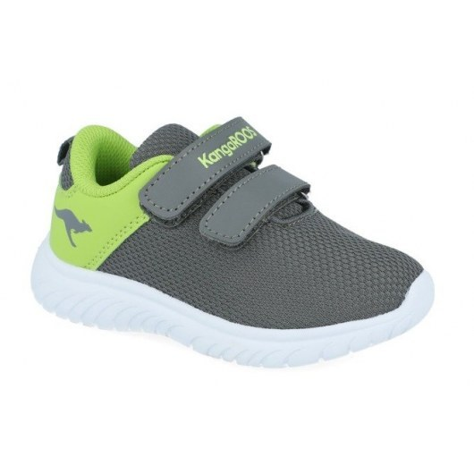 SHOES KANGAROOS KI-INLITE V STEEL GREY/LIME