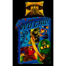 POŚCIEL BAWEŁNIANA 140 X 200 CM LEGO NINJAGO MISTRZ SPINJITZU LEGO-612BL