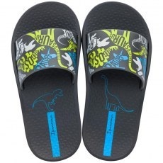 KLAPKI BASENOWE IPANEMA URBAN SLIDE KIDS DARK GREY/GREY