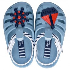 SANDALY PLAZOWE IPANEMA SUMMER VII BABY BLUE/WHITE