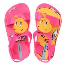IPANEMA LOONEY TUNES BABY PINK/NEON PINK