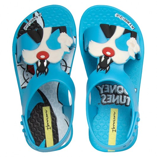 IPANEMA LOONEY TUNES BABY BLUE/BLUE/WHITE
