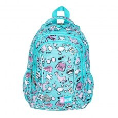 BACKPACK ST.RIGHT BP-26 PASTEL LAMAS