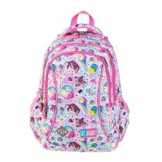 BACKPACK ST.RIGHT BP-26 SWEET & PINK