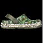 KIDS' CLOGS COQUI LINDO ARMY GREEN CAMO