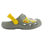 KIDS' CLOGS COQUI MAXI TOM AND FRIENDS GREY/YELLOW