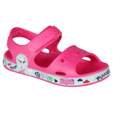 KIDS SANDALS COQUI FOBEE TOM AND FRIENDS FUSCHIA/LT. MINT
