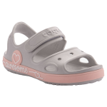 KIDS SANDALS COQUI YOGI KHAKI GREY/CANDY PINK