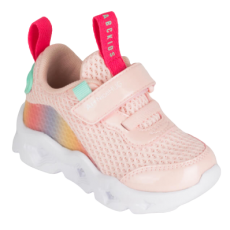 POLBUTY DZIECIECE SNEAKERSY ABCKIDS LED LIGHT PINK