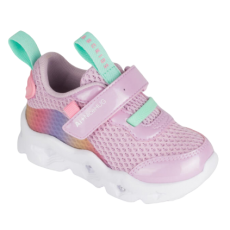 SHOES ABCKIDS SNEAKERS LED LIGHT PURPLE