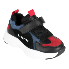 POLBUTY DZIECIECE SNEAKERSY ABCKIDS BLACK/BLUE/RED
