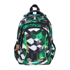 BACKPACK ST.RIGHT BP-26 GREEN 3D BLOCKS