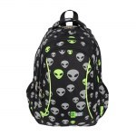BACKPACK ST.RIGHT BP-26 REFLECTIVE ALIENS