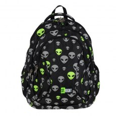 BACKPACK ST.RIGHT BP-02 REFLECTIVE ALIENS