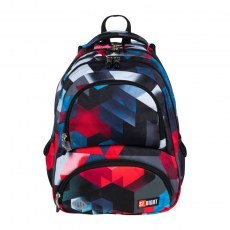 BACKPACK ST.RIGHT BP-07 RED 3D BLOCKS