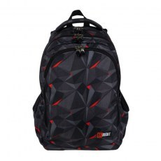 BACKPACK ST.RIGHT BP-57 3D BLACK ABSTRACTION