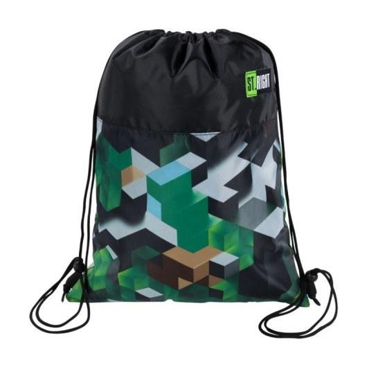 SHOE BAG ST.RIGHT SO-01 GREEN 3D BLOCKS