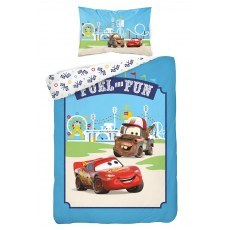 BABY BEDDING SET 100 X 135 CM DISNEY CARS 40A