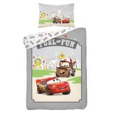 BABY BEDDING SET 100 X 135 CM DISNEY CARS 40B
