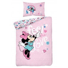 BABY BEDDING SET 100 X 135 CM DISNEY MIINNIE MOUSE STC45A