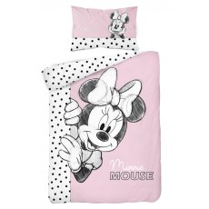 BABY BEDDING SET 100 X 135 CM DISNEY MIINNIE MOUSE STC46A