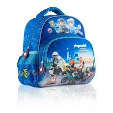 BACKPACK PL-10 PLAYMOBIL CITY ACTION