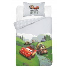 BABY BEDDING SET 100 X 135 CM DISNEY CARS 42A