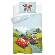 BABY BEDDING SET 100 X 135 CM DISNEY CARS 42B