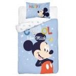 BABY BEDDING SET 100 X 135 CM MICKEY MOUSE MM03A