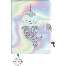 DIARY MERMAID A5 96 SHEETS