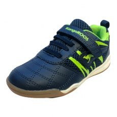 SHOES KANGAROOS KANGAROOS RACE COURT COMB EV DK NAVY/LIME
