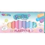 PLASTICINE COLORINO PASTEL 12 COLOURS