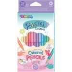 COLORINO PASTEL COLOURED PENCILS 24 COLOURS