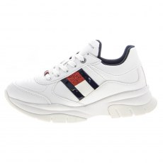 SNEAKERSY TOMMY HILFIGER LOW CUT LACE-UP WHITE