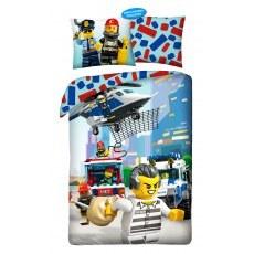 SINGLE DUVET SET 140 X 200 CM LEGO CITY LEG-821BL