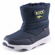 SNOW SHOES KANGAROOS SNOWBALL DK NAVY/LIME