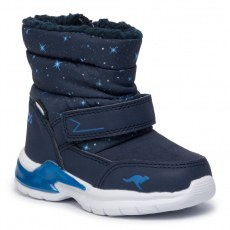 SNOW SHOES KANGAROOS ICERUSH SL DK NAVY/BRILLIANT BLUE
