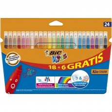 BIC KIDS PENS KID COULEUR 24 COLOURS
