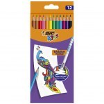 BIC KIDS PENCILS EVOLUTION ILLUSION 12 COLOURS