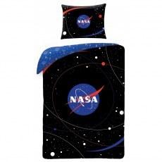 POSCIEL BAWELNIANA DZIECIECA 140 X 200 CM NASA NS-4059BL