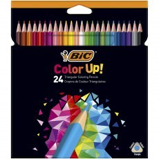 BIC KIDS PENCILS COLOR UP! 24 COLOURS