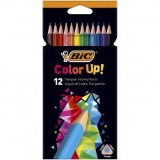 BIC KIDS PENCILS COLOR UP! 12 COLOURS