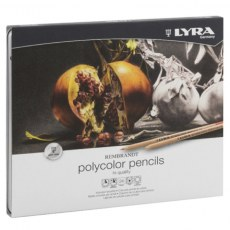 PENCILS LYRA REMBRANDT POLYCOLOR 24 COLOURS