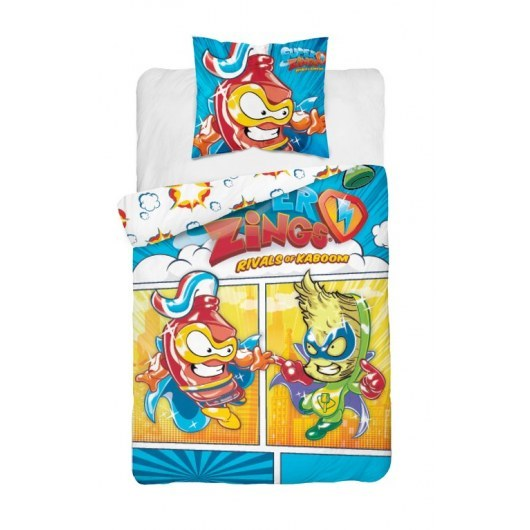 DOUBLE SIDED BEDDING SET 140 X 200 CM SUPER ZINGS SPZ20-1411