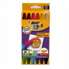 BIC KIDS OIL PASTEL 12 COLOURS