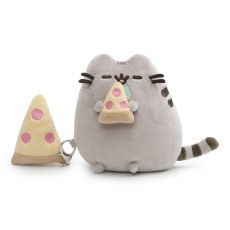 PUSHEEN CAT AND PIZZA 16 CM