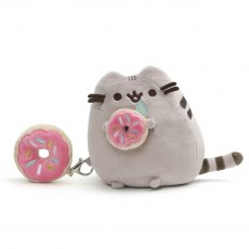 PUSHEEN CAT AND DONUT 16 CM
