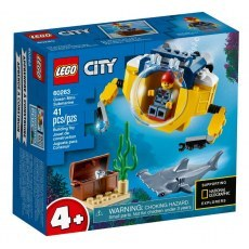 LEGO CITY OCEANIC MINI-SUBMARINE 60263
