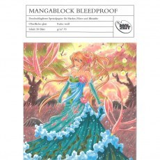 AMI BLOK DO MARKEROW A4 MANGABLOCK BLEEDPROOF 21,0 X 29,7 CM