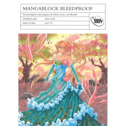 AMI MANGABLOCK BLEEDPROOF 21,0 X 29,7 CM